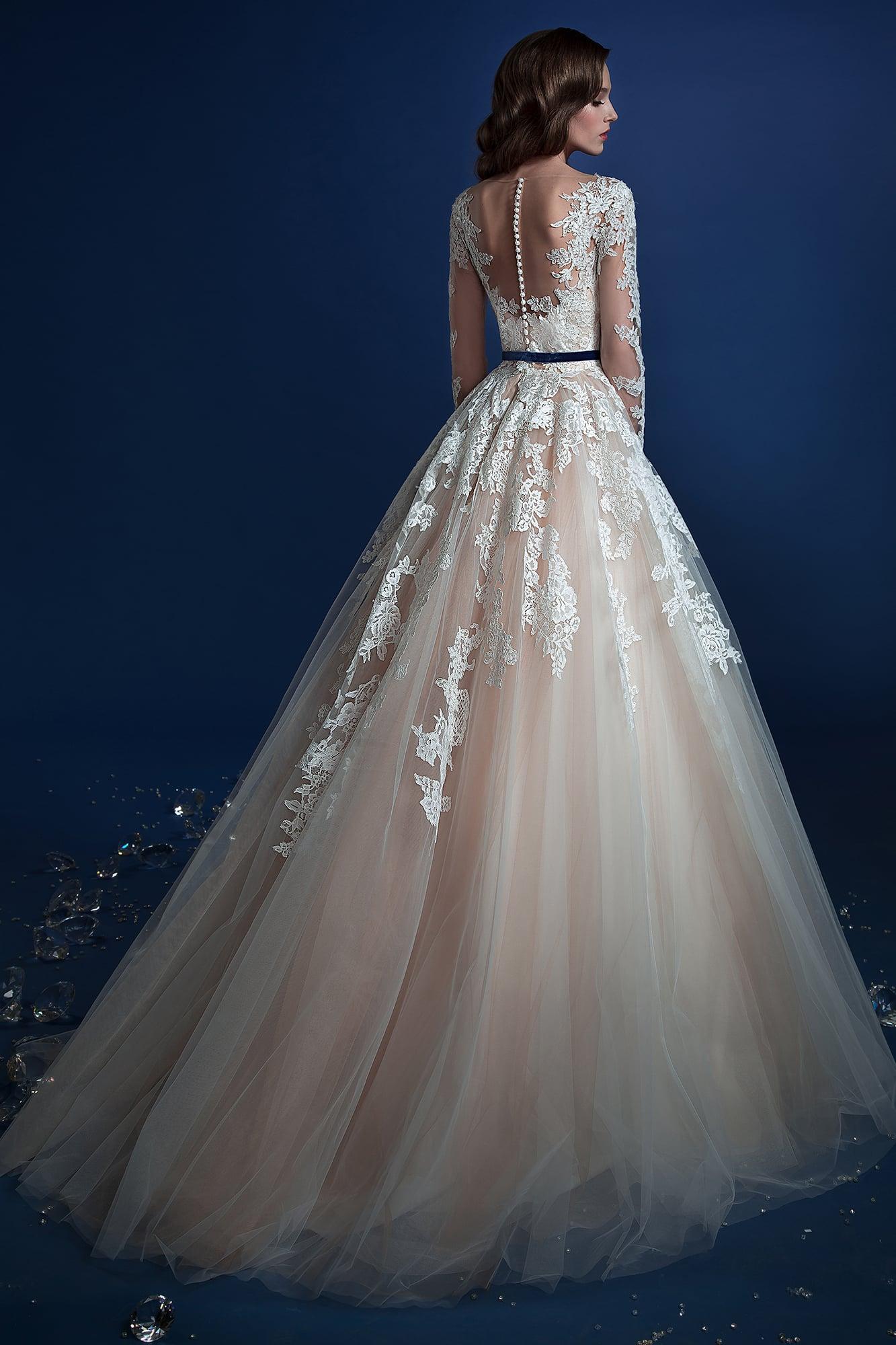Свадебное платье адель габбиано