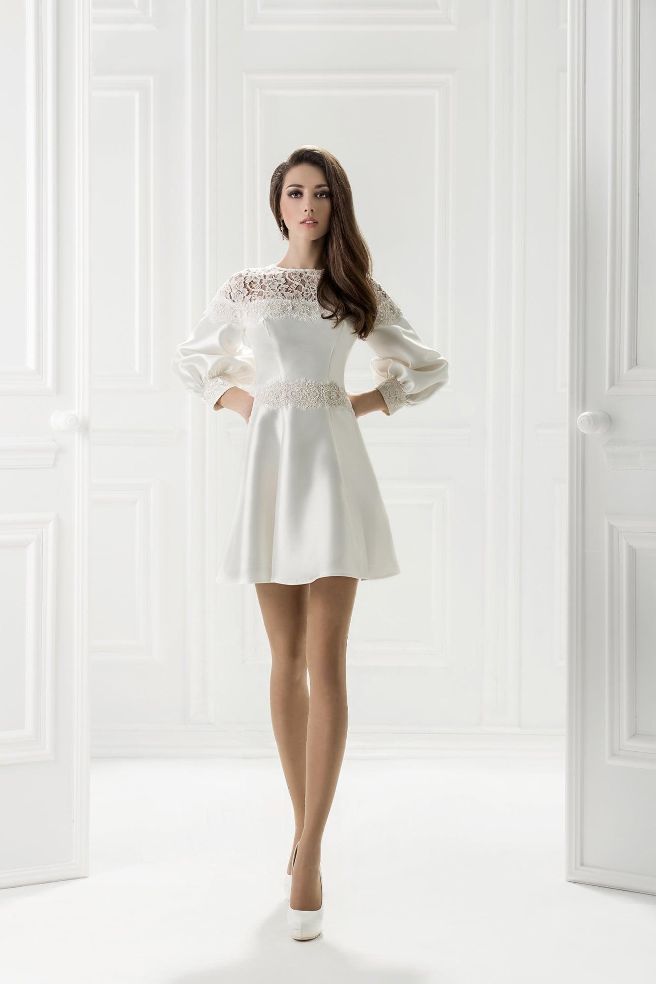белое вечернее платье на свадьбу купить