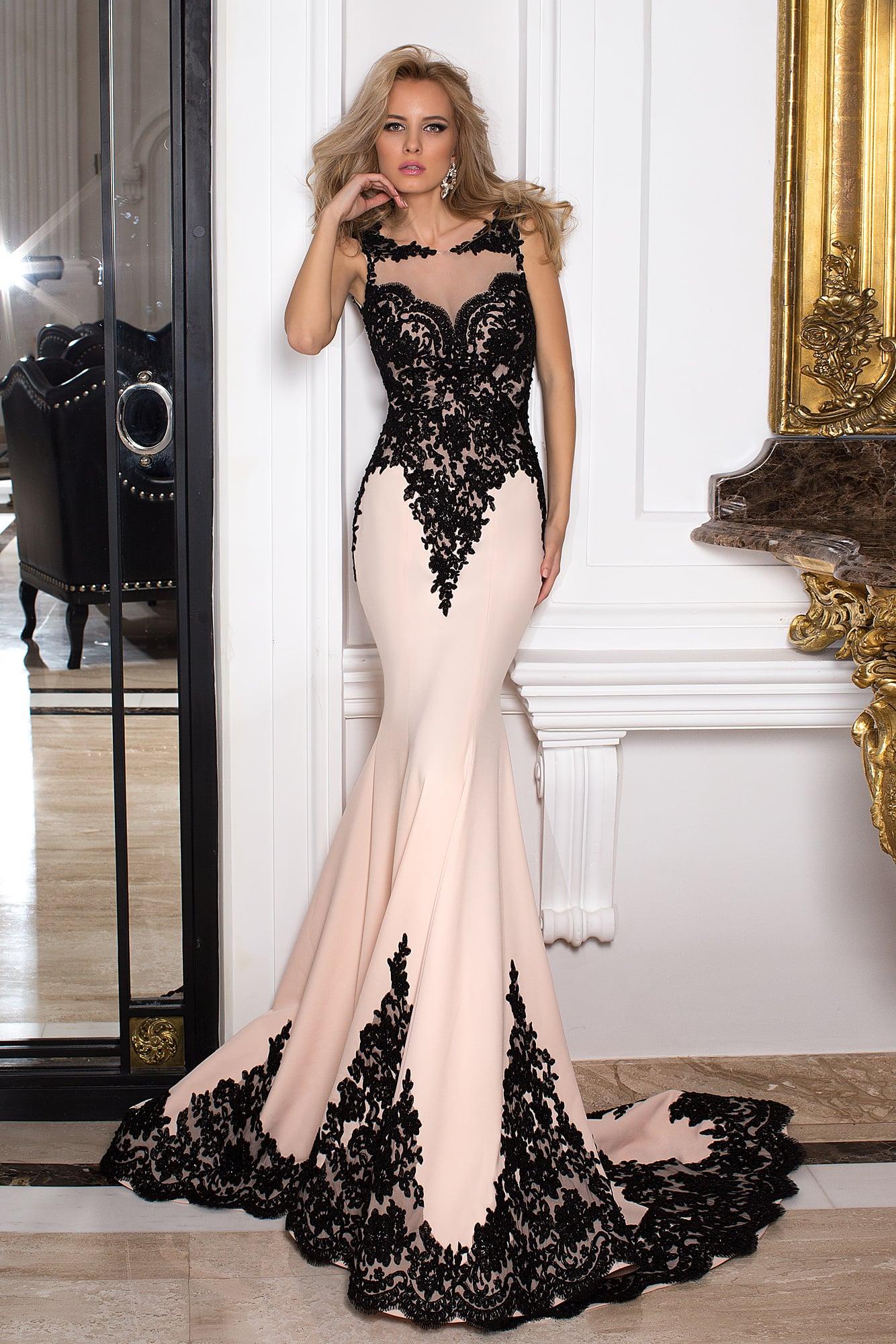 1e7938d65f1 Вечернее платье Oksana Mukha 16-1029. Купить вечернее платье в ...