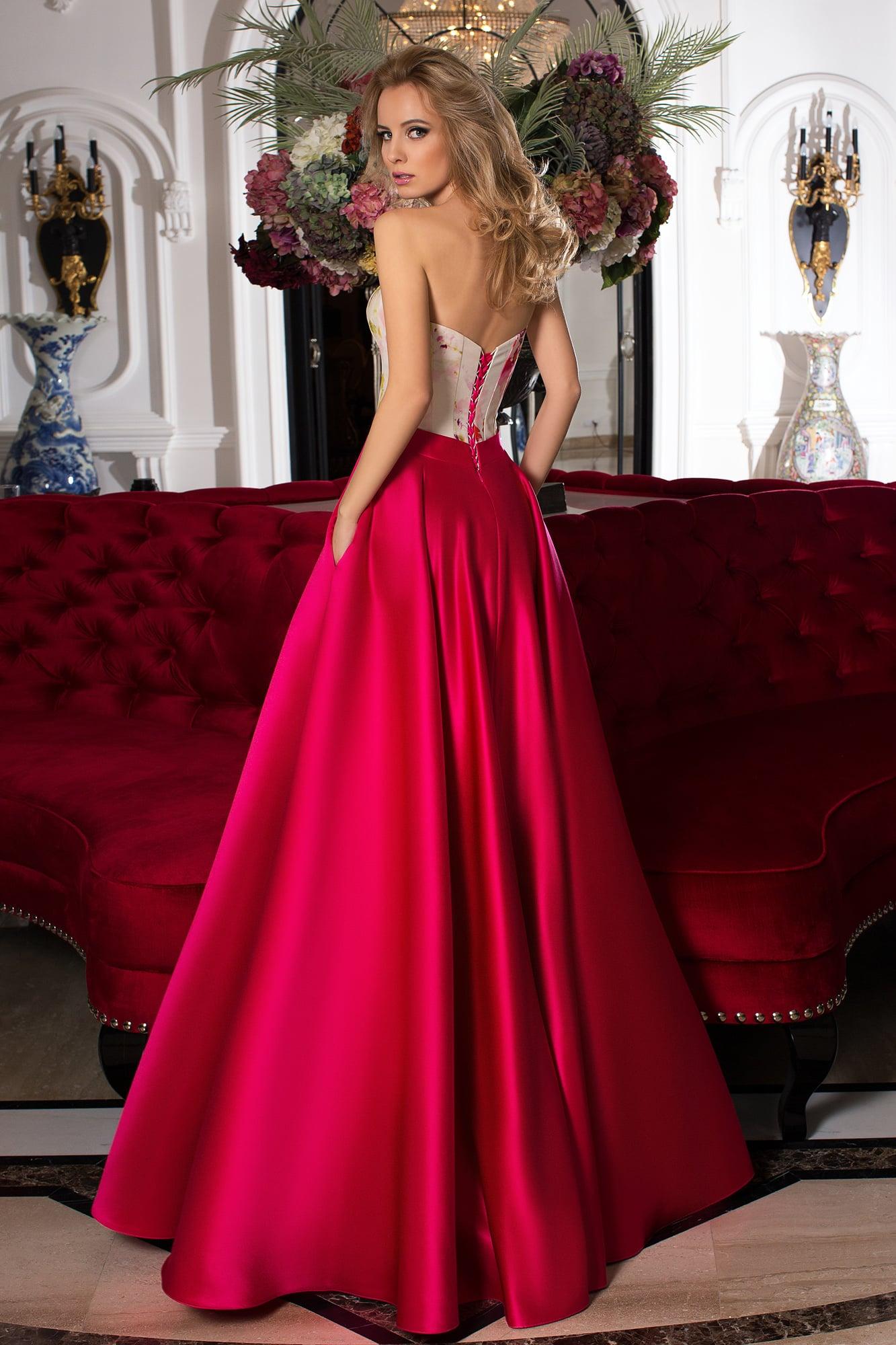e1b3bec8e37 Красивое платье на свадьбу Oksana Mukha 16-1074. Купить вечернее ...