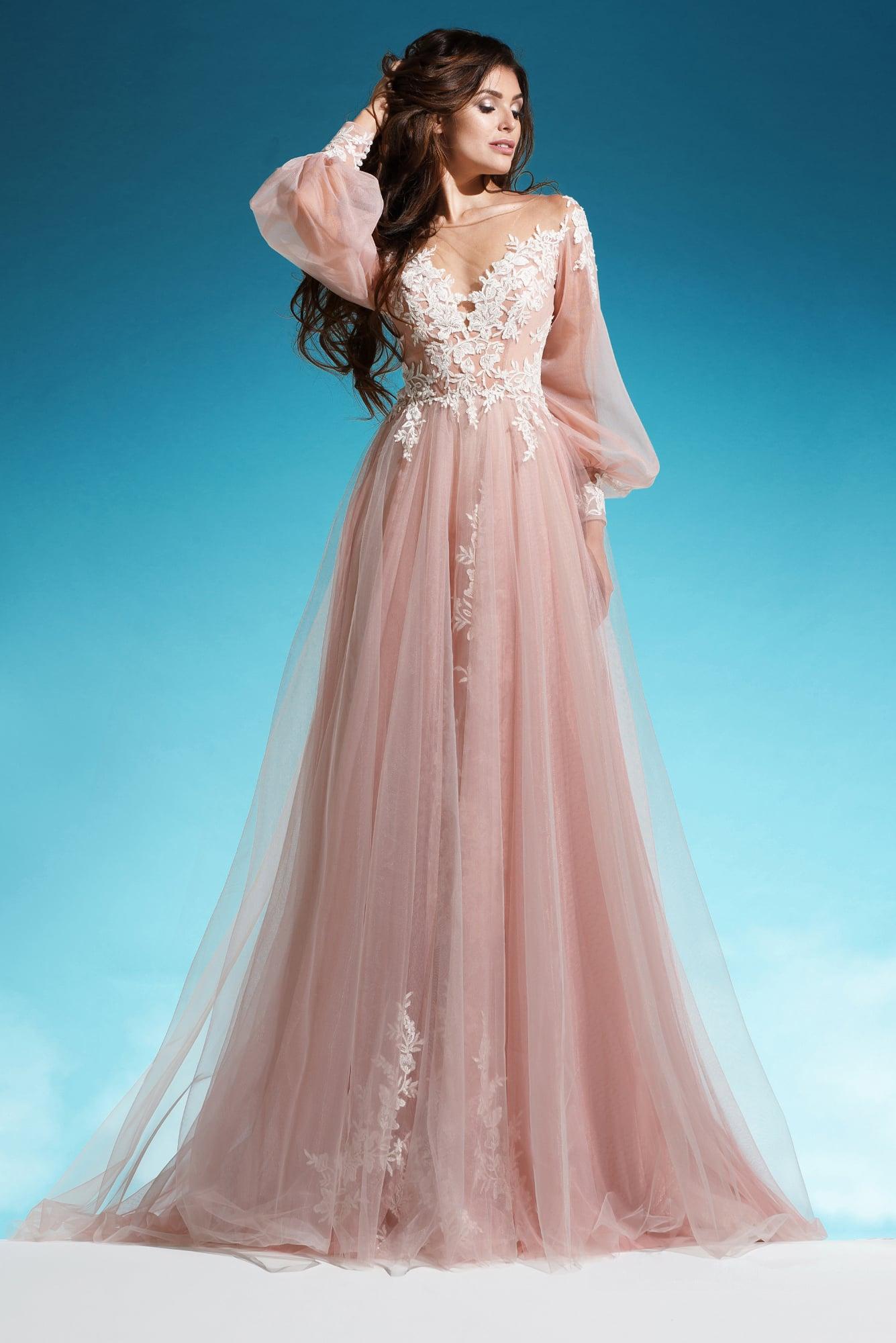Свадебные цветные платья купить в москве