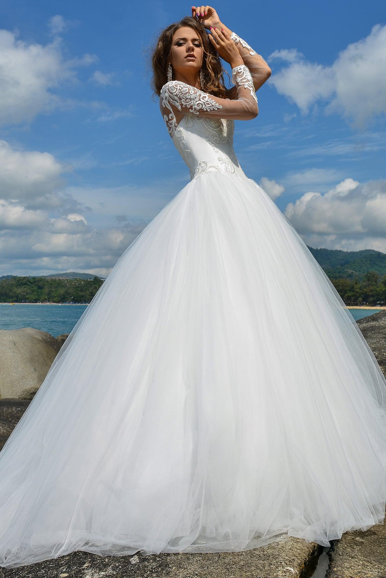 Свадебное платье в рязани