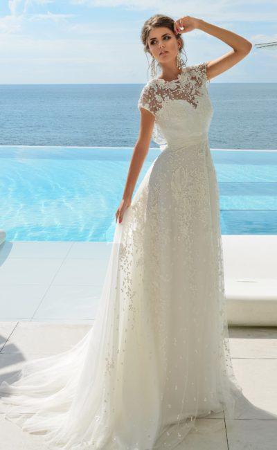 6d7dc5e4a3b Свадебное платье в стиле рустик Frenchy