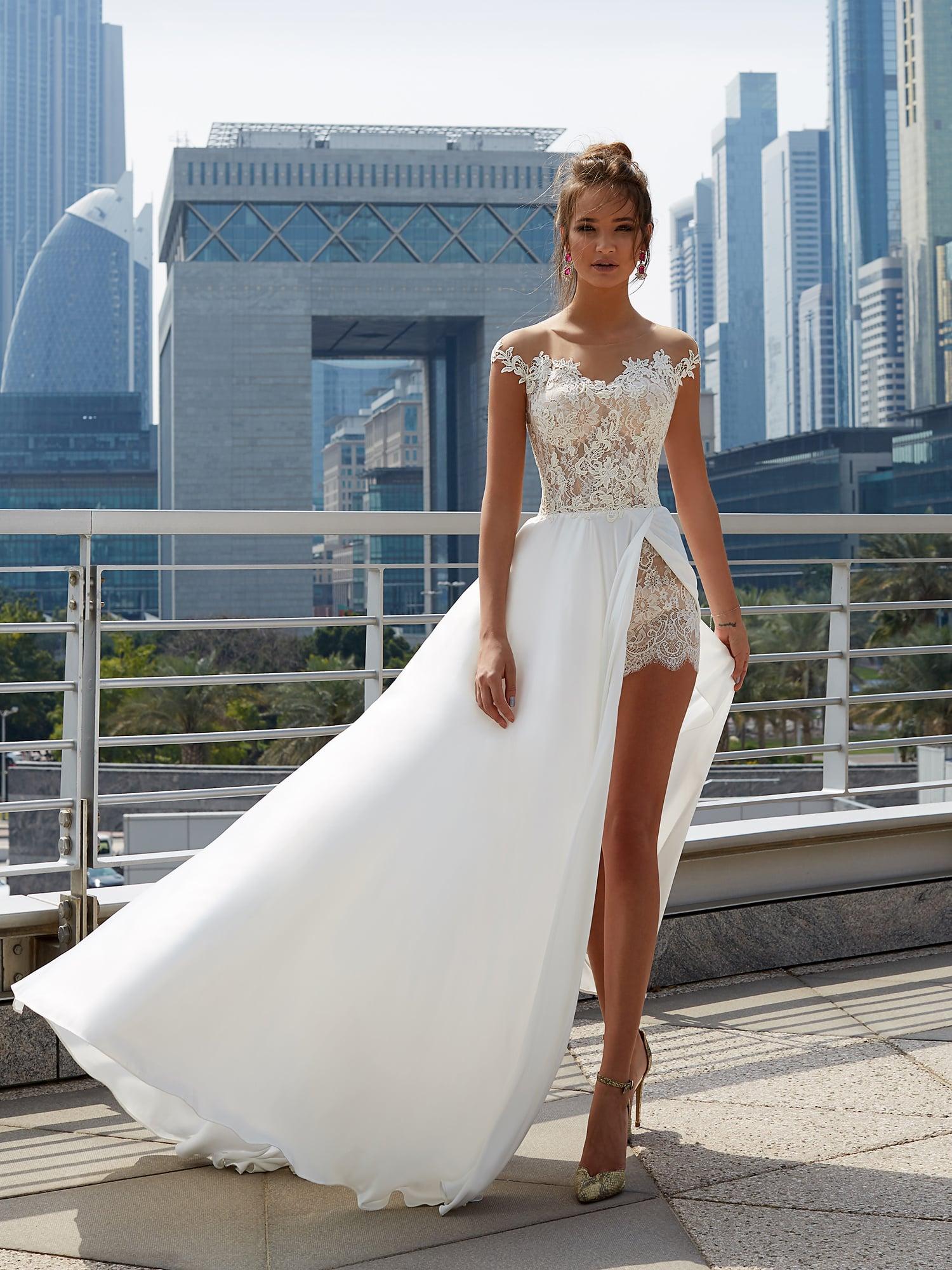 Из чего состоит платье свадебное платье
