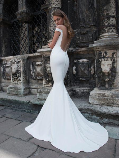 1c96dbaa880 Модные свадебные платья с открытой спиной
