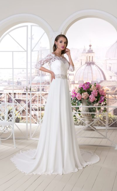 Что делают с венчальным платьем