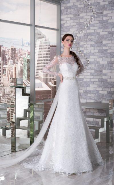 Дорогие пышные свадебные платья