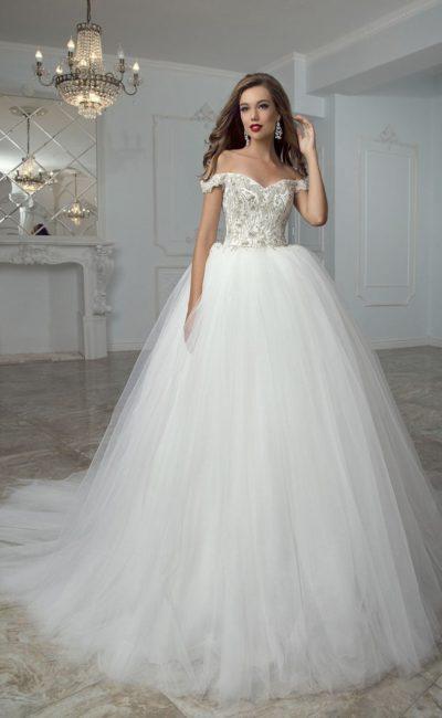 fafa051d3543564 Свадебные платья со стразами | Свадебный салон Валенсия (Москва)