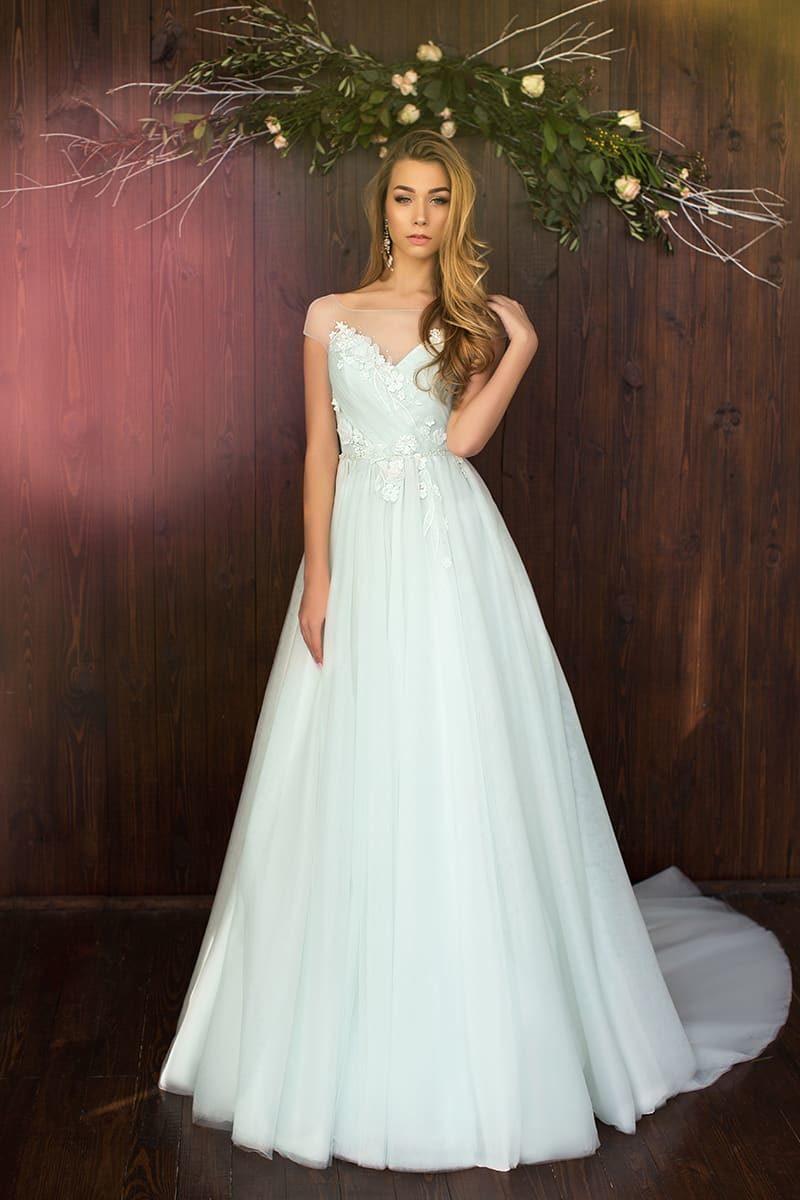 Платье свадебное лотос