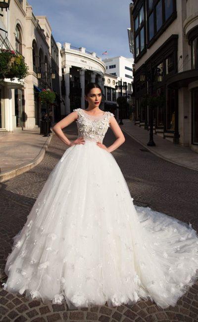 Свадебное платье пышного фасона