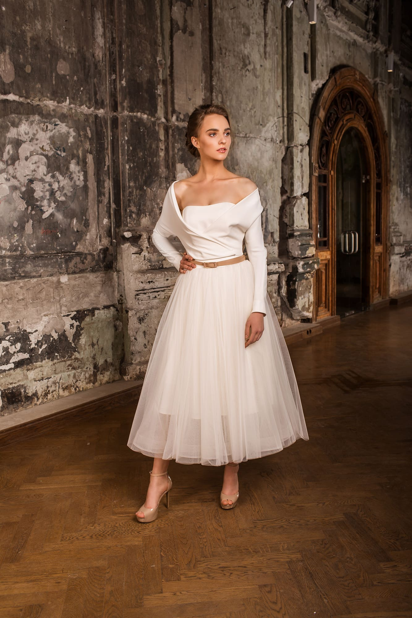 Оригинальное свадебное платье купить