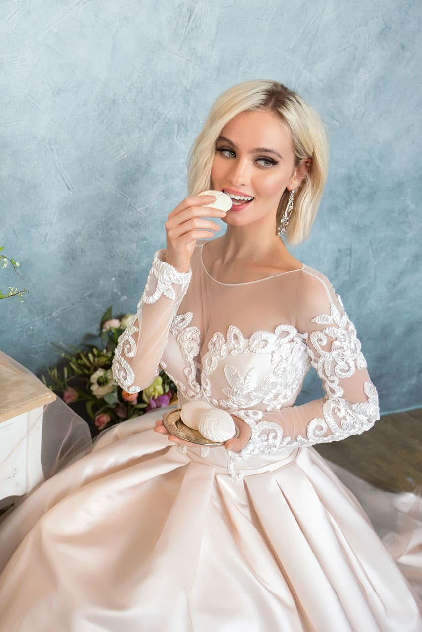 Свадебное Платье Анна Кузнецова Купить