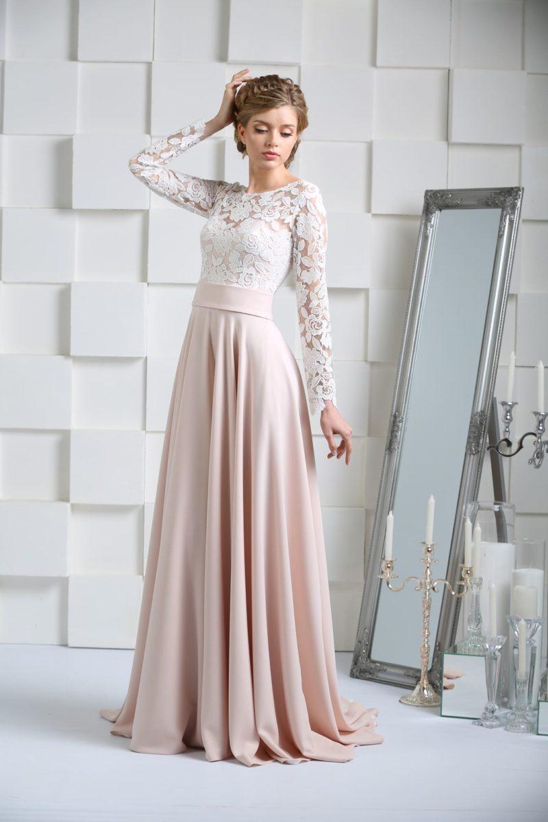 Не белое платье для венчания