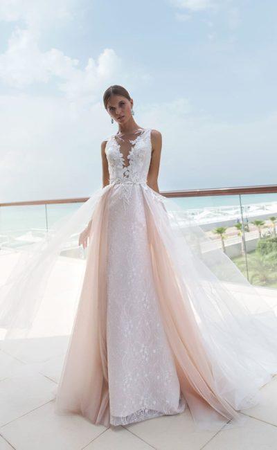 Красивое свадебное платье-трансформер