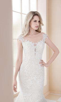Свадебное платье «русалка»