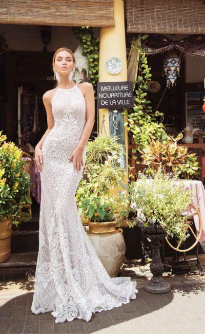 Элегантное платье русалка