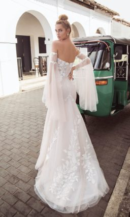Платье свадебное «рыбка»