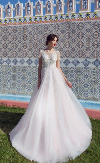 Платье с фактурным декором