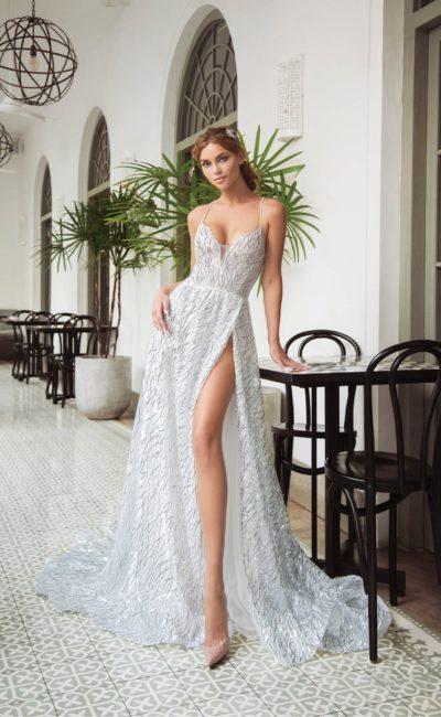 Красивое летнее свадебное платье