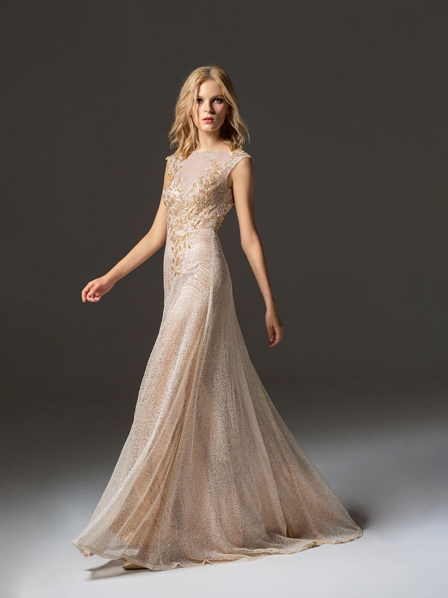 cc337f8d55b07fd Платье на выпускной золотого цвета PV0351. Купить вечернее платье в ...