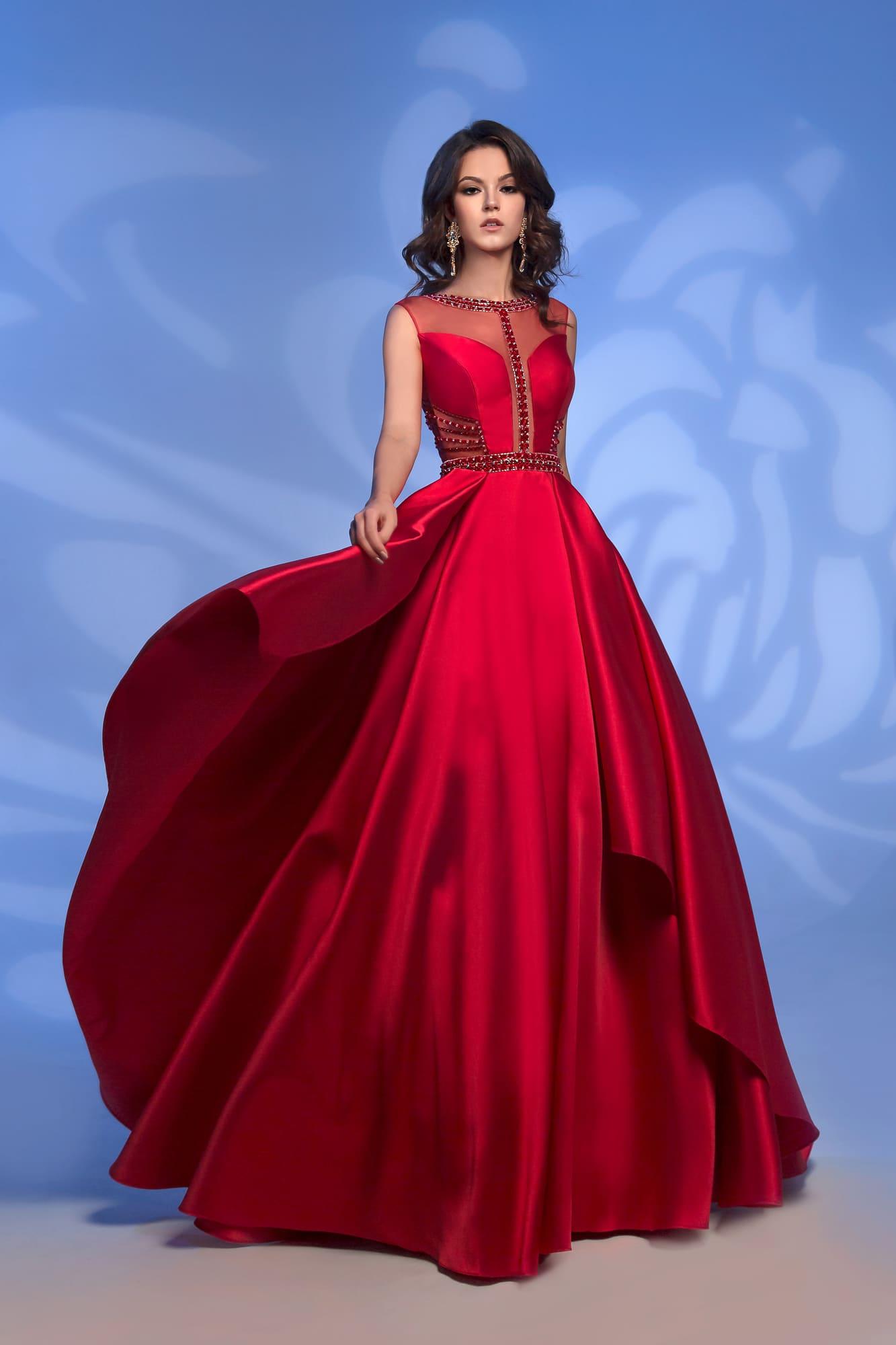 платье на свадьбу красное купить