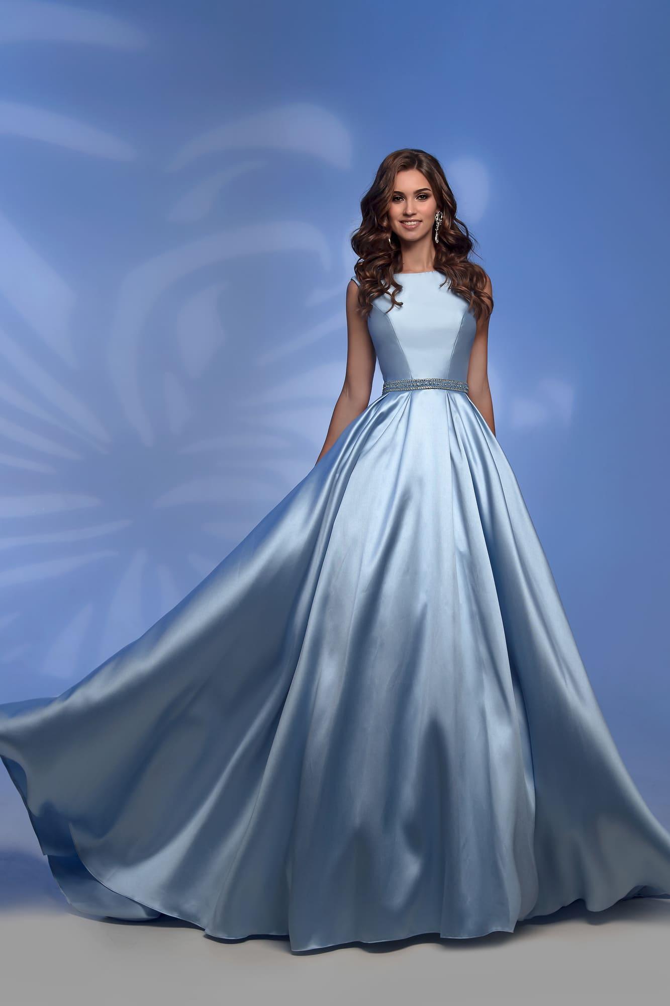 f84a579a8f2 Голубое платье для выпускного Nora Naviano 31250 blue. Купить ...