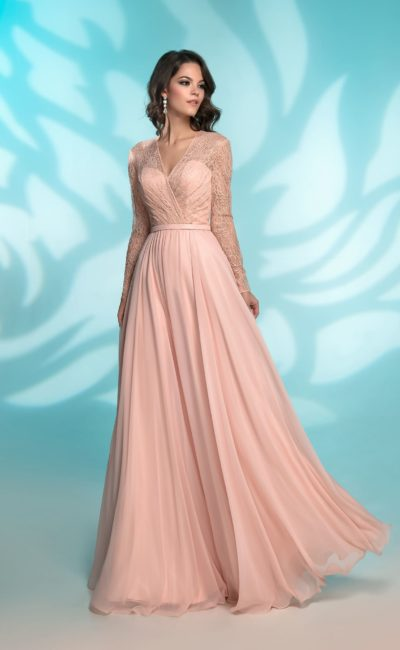 f20e31ef39e Платье для подруги невесты 31254 pink