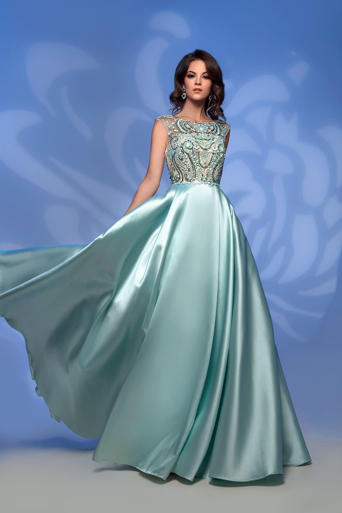 ec9fc8d261b4df0 Вечернее платье Nora Naviano 32359 green. Купить вечернее платье в ...