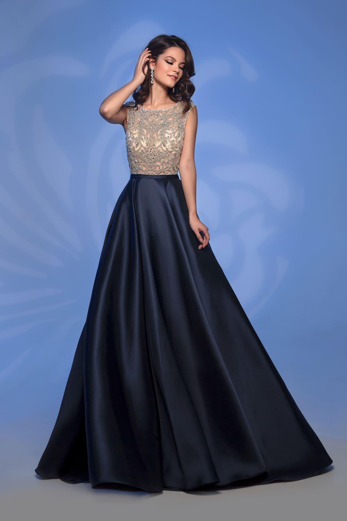 4a6016ee291 Вечернее платье Nora Naviano 32362D navy. Купить вечернее платье в ...