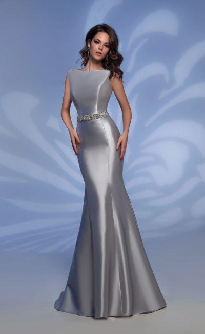 Вечернее платье «рыбка»