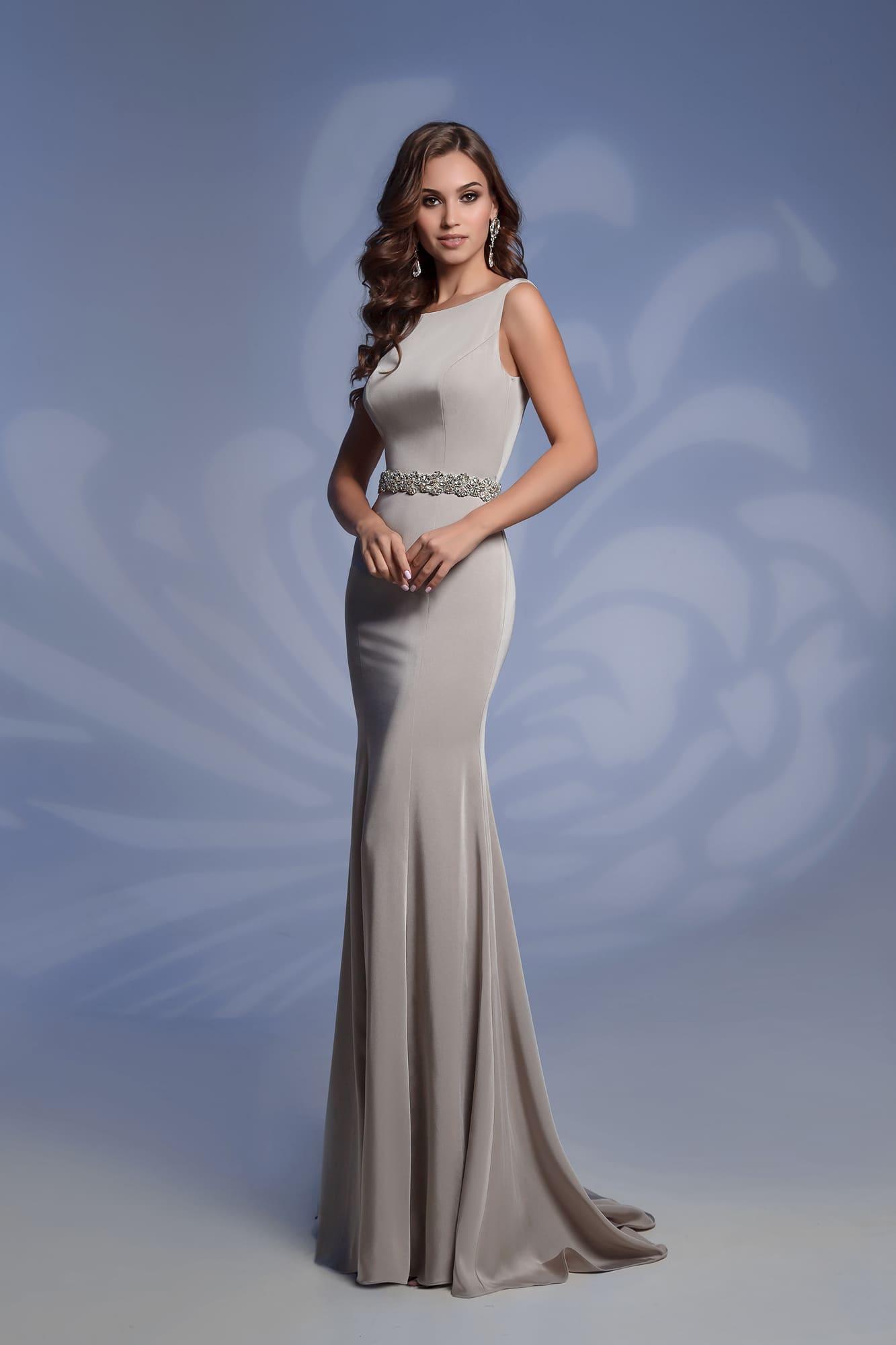 9929302e664 Платье серебристого цвета Nora Naviano 51931 silver. Купить вечернее ...