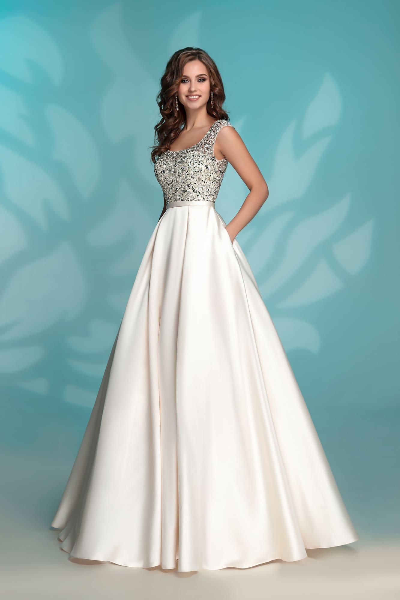 e81ebaf7a4b Платье вечернее цвета айвори Nora Naviano 8176 ivory. Купить ...