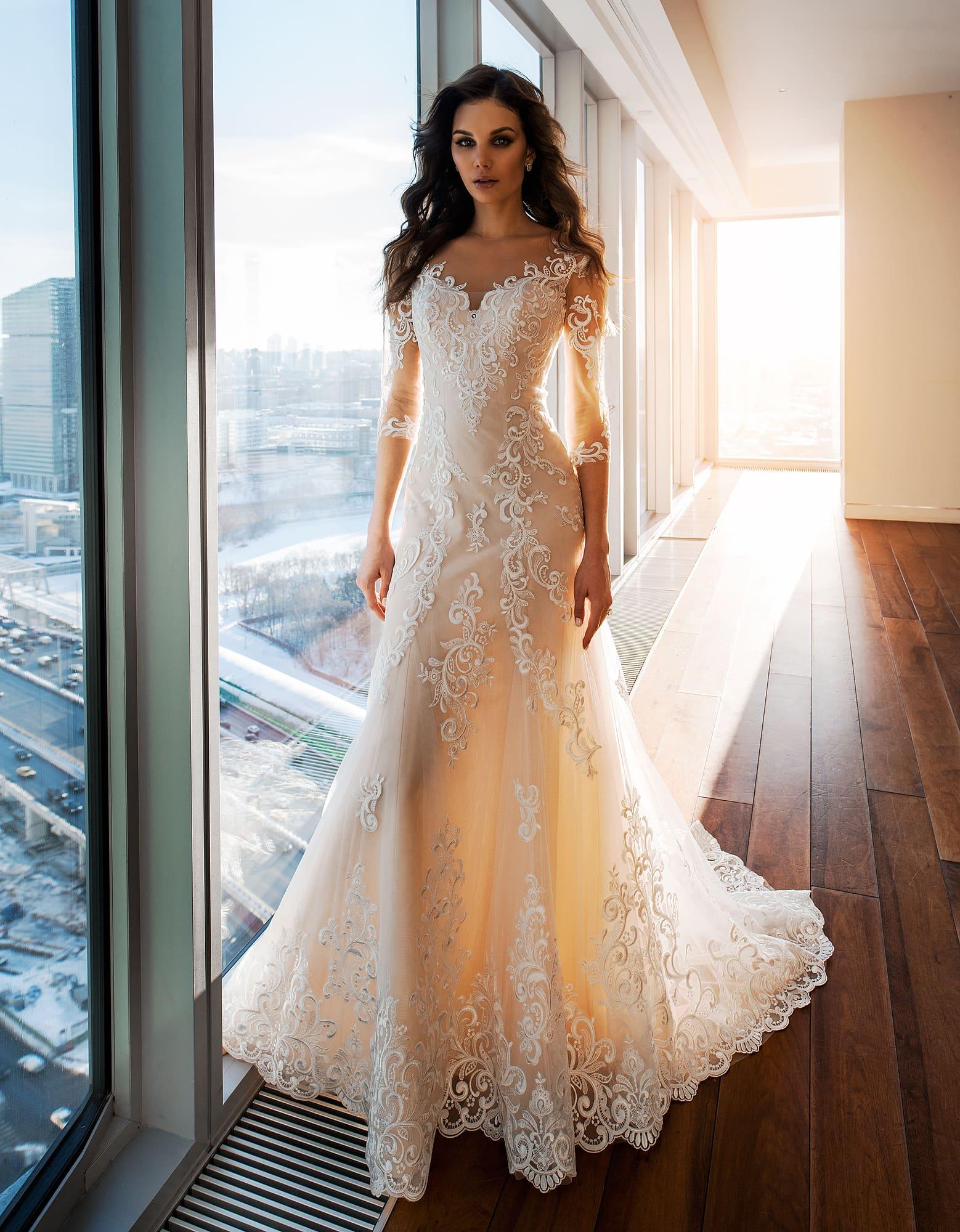 посмотреть фото платьев на свадьбу более, если
