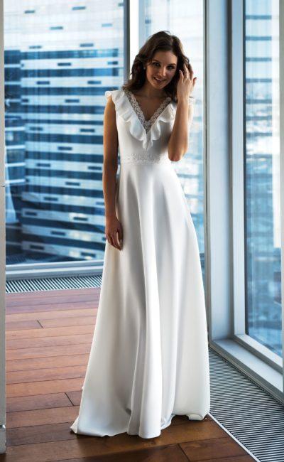 Прямое простое платье