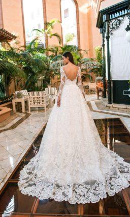 Свадебное платье дорогое