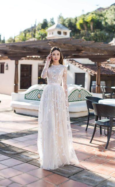 Красивое платье на венчание