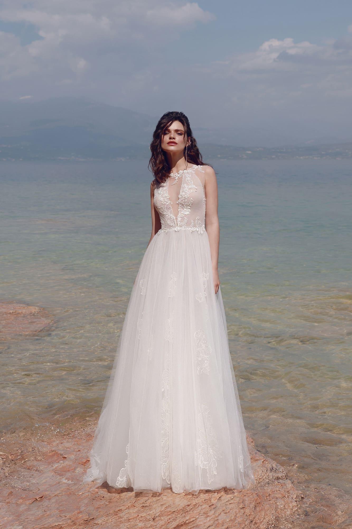 купить пляжное свадебное платье недорого