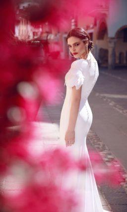 Свадебное платье ретро «русалка»