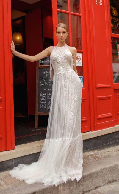 Богемное свадебное платье