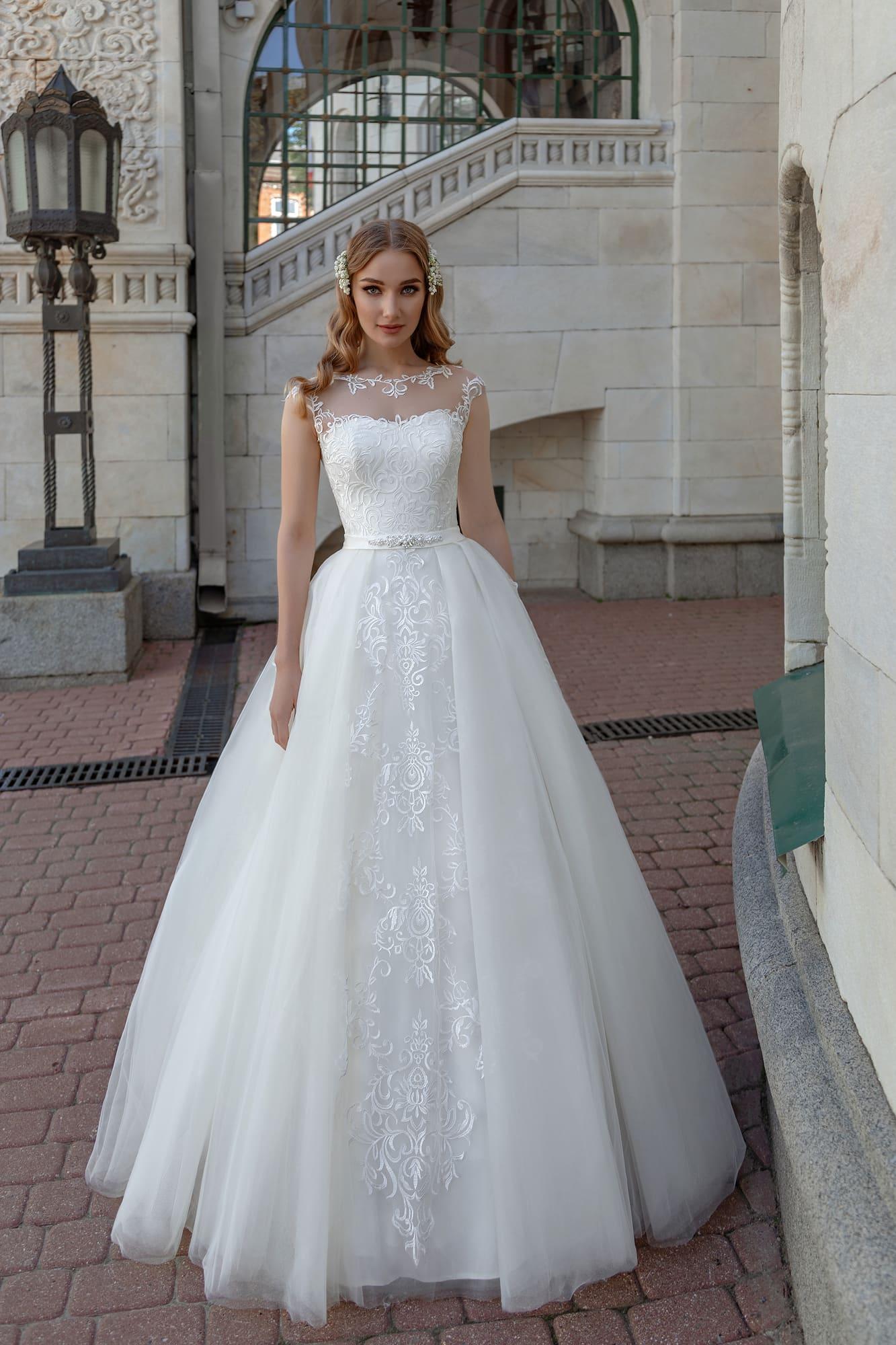 ac9f8664f Стильное пышное свадебное платье Nina Kimoli Vailet. Купить ...