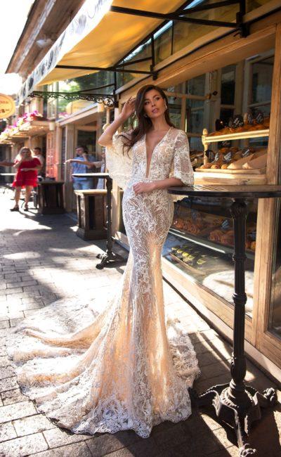 Красивое платье «русалка»