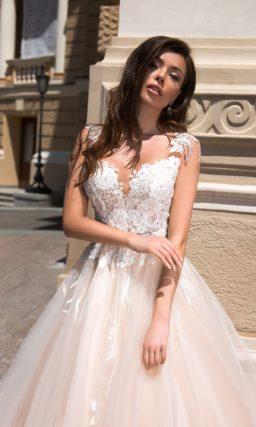 Пышное свадебное платье для очаровательной принцессы