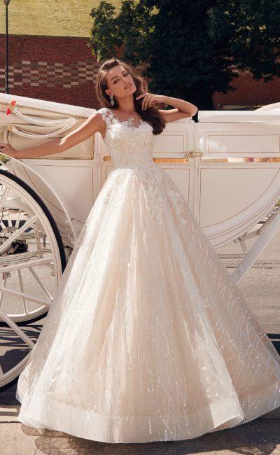 Платье свадебное с красивой юбкой