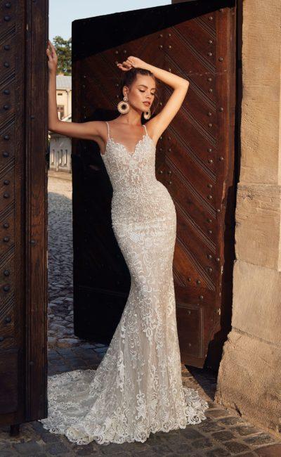 Платье «русалка» со шлейфом