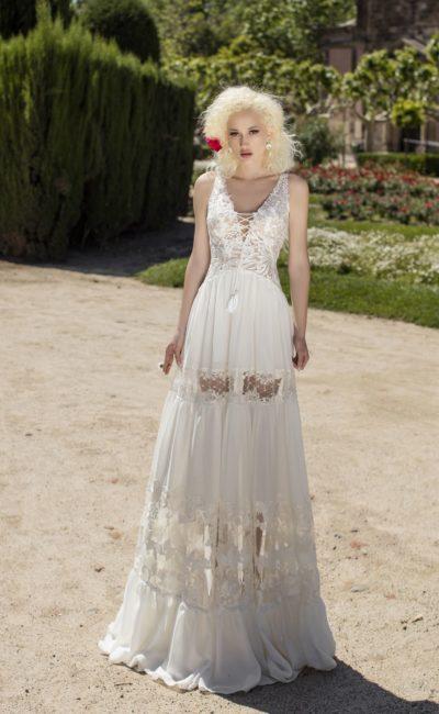 Свадебное платье в бохо-стиле
