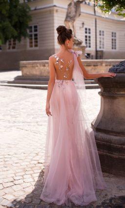 Красивое платье «в пол»