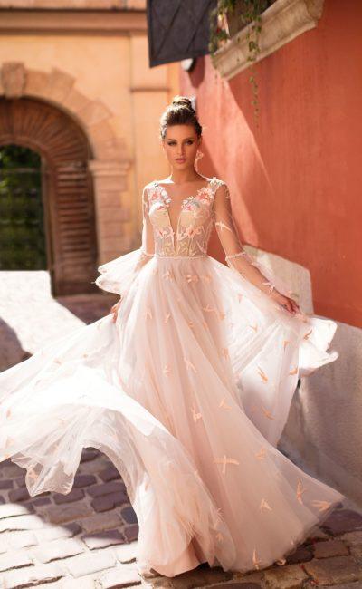 29e479a2245 Белое молодежное платье Pari