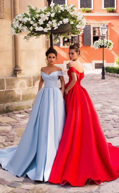 Стильное выпускное платье
