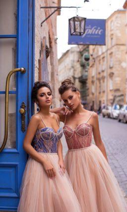 соблазнительное платье с пышной юбкой