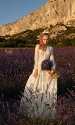 Свадебное платье в стиле «прованс»